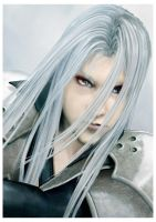 Sephiroth-Ultimate Antagonist by Lesleigh63