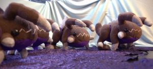 Zergling inspired plush by boro-official