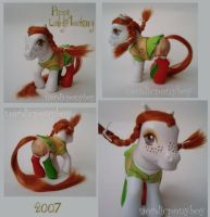 Pippi Longstocking Custom Pony by NordicPonyBoy