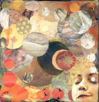 circle collage by SerenadeStrong