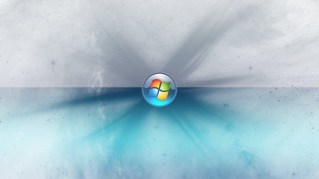 Blue Grey Abstract Windows 7 Wallpaper by JaidynM