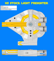 XS stock light freighter by Munners
