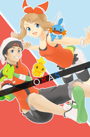 Pokemon ORAS by PearFlower