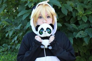Kagamine Len - The Panda Song by AsakuraIrma