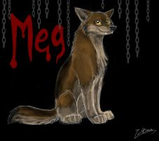 Meg by wolfeiz