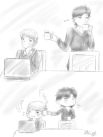 Sherlock: Free Coffee by BlankInSpace