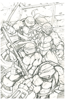 TMNT Pencils by 2POPE