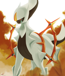 Day30 [BADASS] Arceus by Rock-Bomber