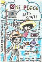Ace and Luffy by Angie-Crystal-Star