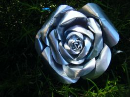 Recycled Red Bull Rose 3 by Christine-Eige