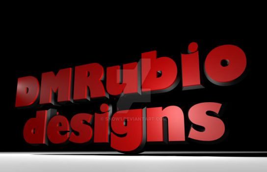 DMRubiodesigns 3d by snow1