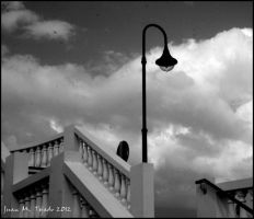 Lamp and stairs by quevedo3