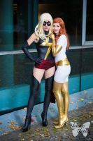 Marvel: Miss Marvel and White Phoenix by Mokuyo