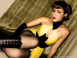 Silk Spectre I - Sally by Yukilefay