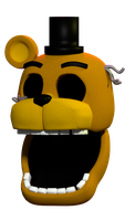 Adventure Withered Golden Freddy by AustinTheBear
