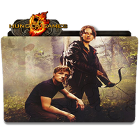 The Hunger Games Desktop Icon by RainGirl2009