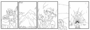 Battle Tales Page 002 The preview by RedSilverArtist