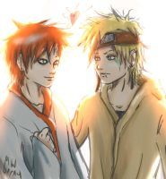 Gaara and Cecil by HolyXell