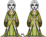 Medieval Lady Death: War of the Winds: Obsidia2 by thetrappedartist