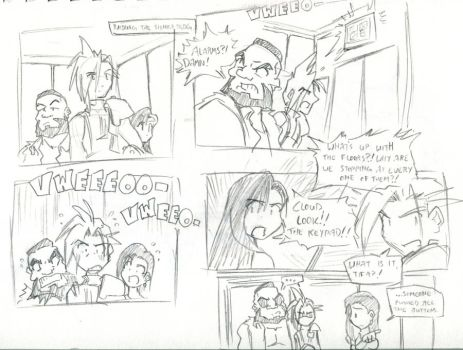 Elevator Action by LucasCersaine