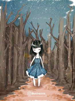Forest girl by shiin6006
