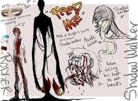 Rodger/Shadow walker Ref .:Updated:. by Chibi-Works