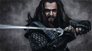 The Hobbit - Thorin Oakenshield by greQ111