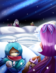 48. Snow Ball Fight by Raspinbel2