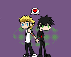 Billie Joe+Mike :Oekaki crap: by invader-zim-14
