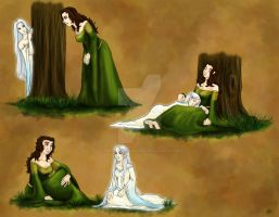 Hobbit OC: Kelda and Aereya by TheLastUnicorn1985