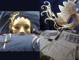 AC: Brotherhood Hellequin Mask WIP by LyoNaka
