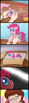 Birth of a plushie (commissioned) by tan575