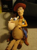 Woody and Bullseye by spidyphan2