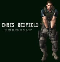 Chris Redfield by xUmbrellaCo