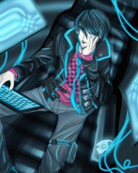 WHO'S YOUR CYBERGOD NOW? by anime-dragon-tamer