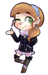 Chibi Commission: Clover by Xaika
