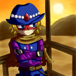 The Vagrant Cowboy by sunowi0421
