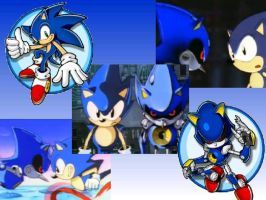 Sonic and Metal Wallpaper by Firesonic152