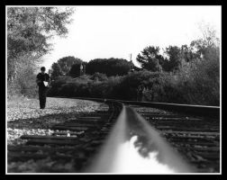 Walking the Tracks by iFix