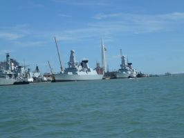 Portsmouth Frigates by photodash