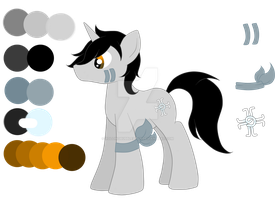 :MLP: SIlver Sage Reference by RollingBubblesfan