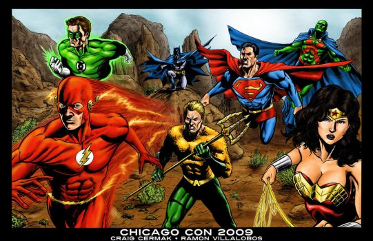 Justice League America - Color by craigcermak