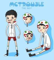 McTrouble reference sheet c : by EvilCreampuff