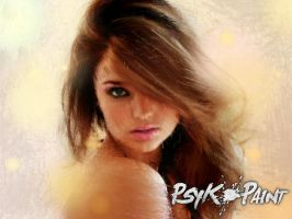 miranda kerr psykopainted by MightyMagic