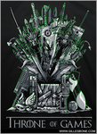 .Throne of Games . by GBIllustrations