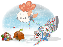 COTW19: deck the halls with ... olaf? by Belle980