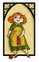 Molly Weasley by kissyushka
