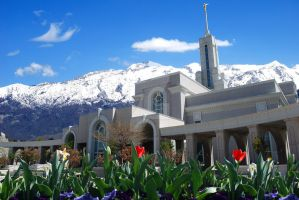 LDS Mount Timpanogos Temple by creativelycharged