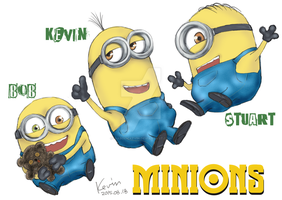 Minions! by DiabolicKevin