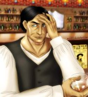 Drown his sorrows... by M-I-D-S